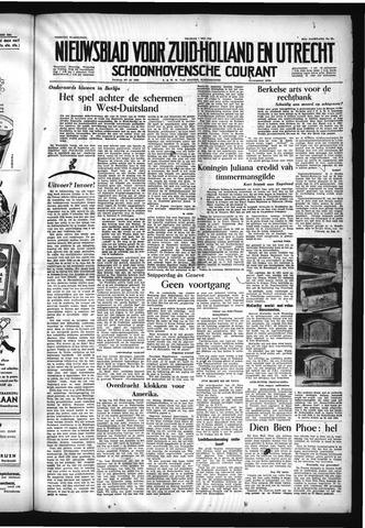 Schoonhovensche Courant 1954-05-07