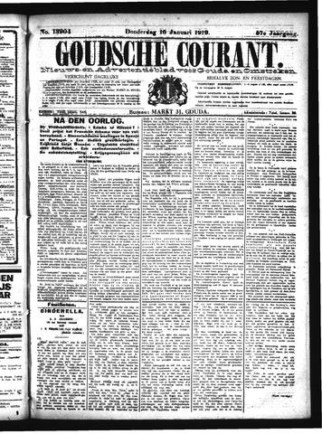 Goudsche Courant 1919-01-16