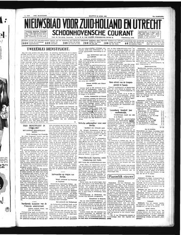 Schoonhovensche Courant 1939-04-24