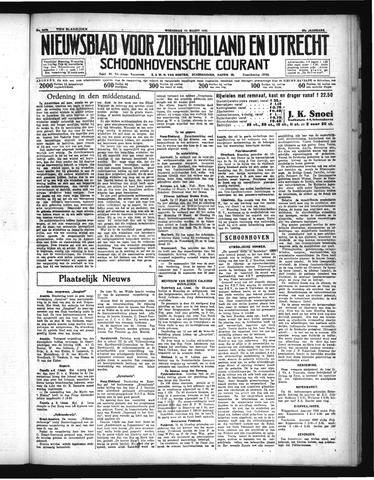 Schoonhovensche Courant 1935-03-13