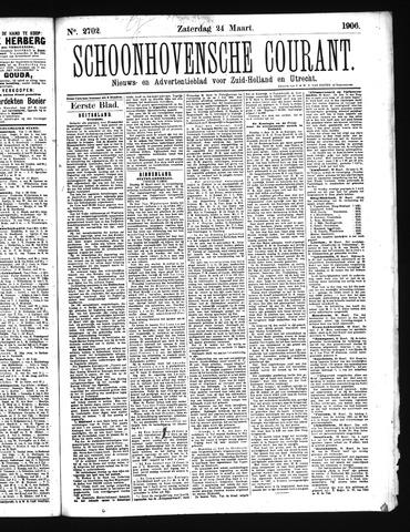 Schoonhovensche Courant 1906-03-24