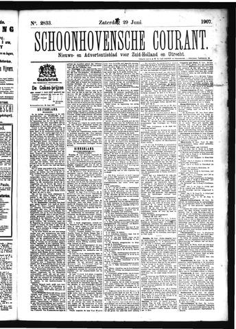 Schoonhovensche Courant 1907-06-29