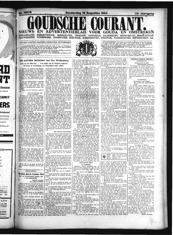 Goudsche Courant 1934-08-16