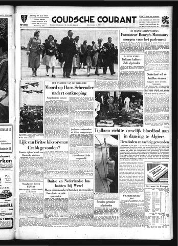 Goudsche Courant 1957-06-11