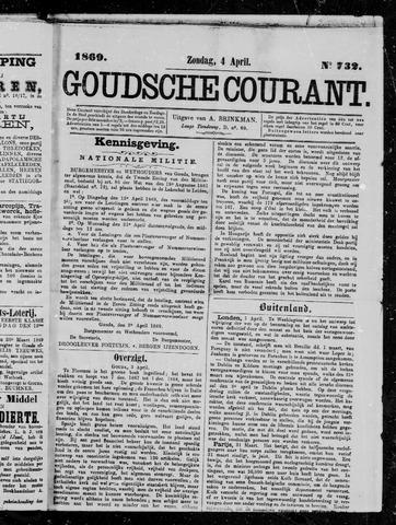 Goudsche Courant 1869-04-04