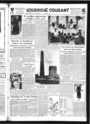 Goudsche Courant 1956-08-30