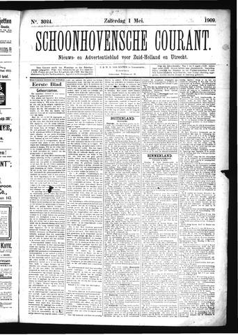 Schoonhovensche Courant 1909-05-01