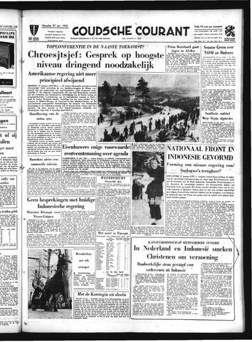 Goudsche Courant 1958-01-27