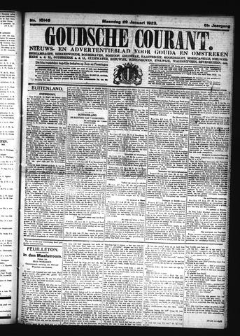 Goudsche Courant 1923-01-29