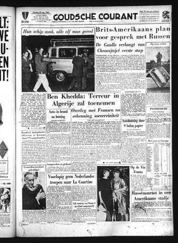 Goudsche Courant 1961-08-29