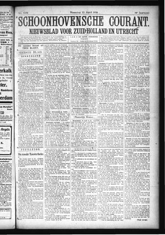 Schoonhovensche Courant 1926-04-12
