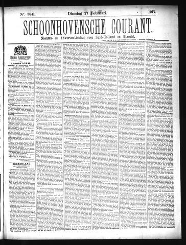 Schoonhovensche Courant 1917-02-27