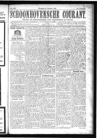 Schoonhovensche Courant 1922-10-16