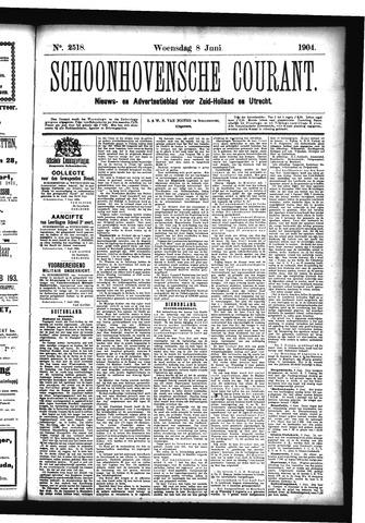 Schoonhovensche Courant 1904-06-08