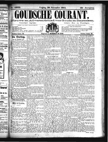 Goudsche Courant 1914-11-20