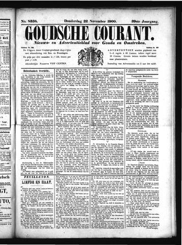 Goudsche Courant 1900-11-22