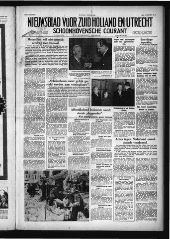 Schoonhovensche Courant 1958-01-06