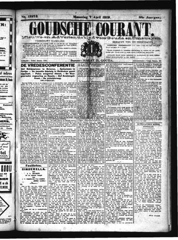 Goudsche Courant 1919-04-07