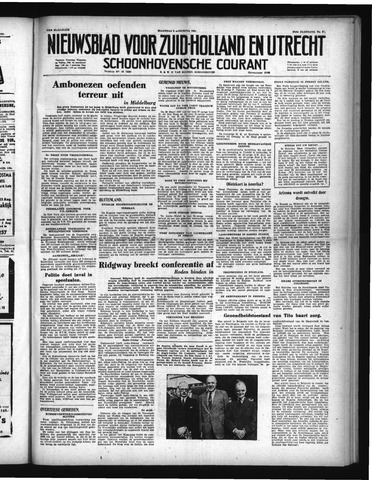 Schoonhovensche Courant 1951-08-06