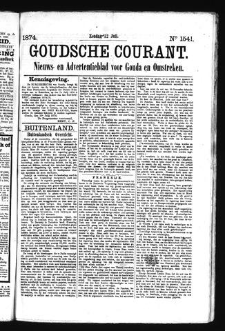 Goudsche Courant 1874-07-12