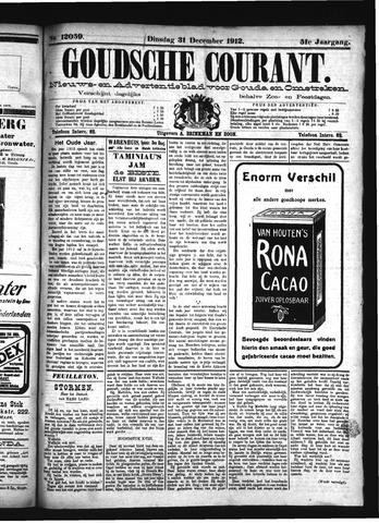 Goudsche Courant 1912-12-31