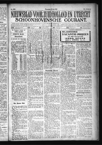 Schoonhovensche Courant 1929-06-26