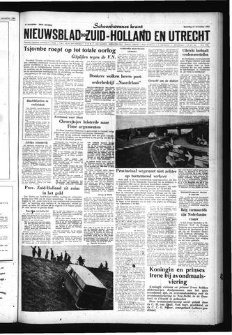 Schoonhovensche Courant 1961-11-27