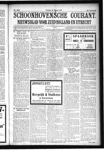 Schoonhovensche Courant 1927-03-11