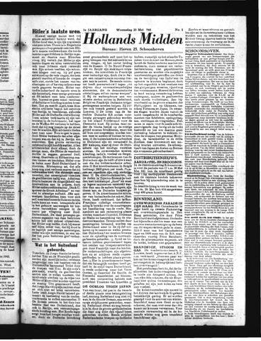 Schoonhovensche Courant 1945-05-23