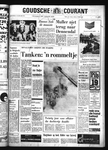 Goudsche Courant 1974-01-24