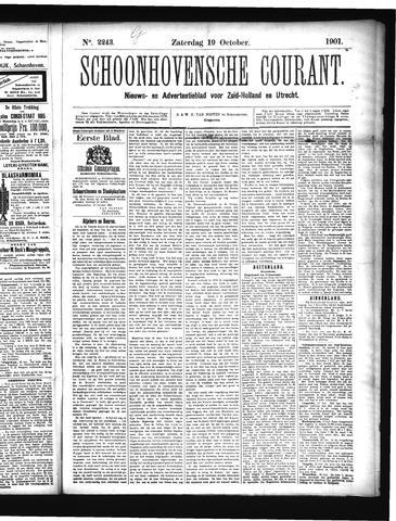 Schoonhovensche Courant 1901-10-19