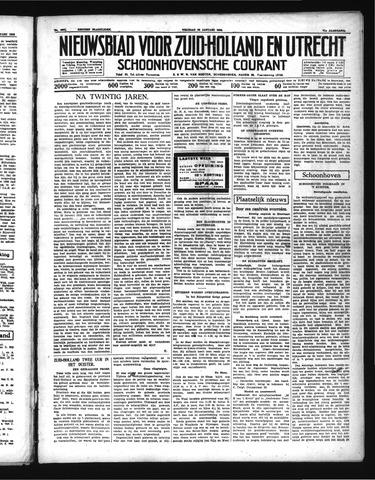 Schoonhovensche Courant 1939-01-20