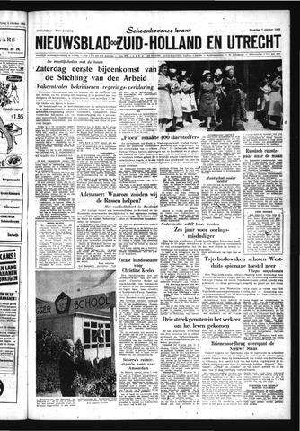 Schoonhovensche Courant 1963-10-07