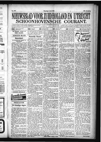 Schoonhovensche Courant 1928-07-02