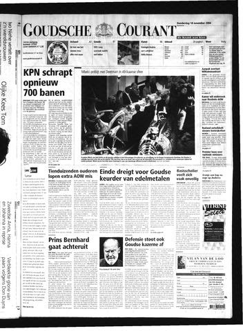 Goudsche Courant 2004-11-18