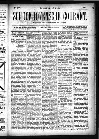 Schoonhovensche Courant 1890-07-12