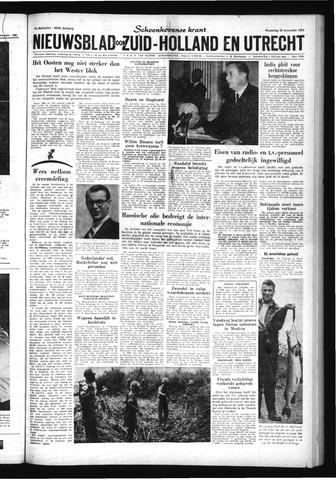 Schoonhovensche Courant 1961-11-22