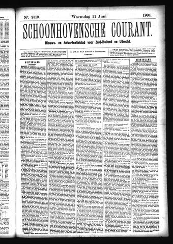 Schoonhovensche Courant 1904-06-22