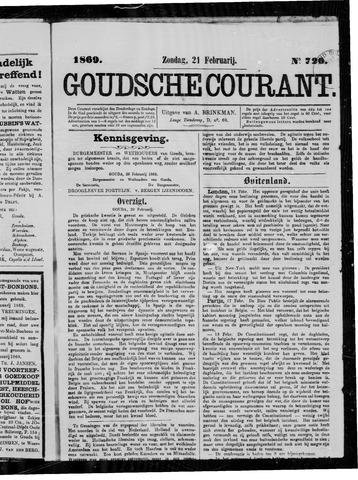 Goudsche Courant 1869-02-21