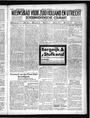 Schoonhovensche Courant 1937-12-01