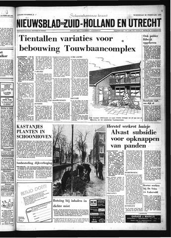 Schoonhovensche Courant 1975-02-26