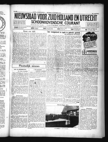 Schoonhovensche Courant 1934-09-24