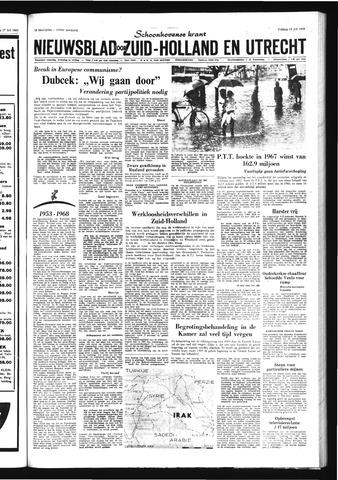 Schoonhovensche Courant 1968-07-19
