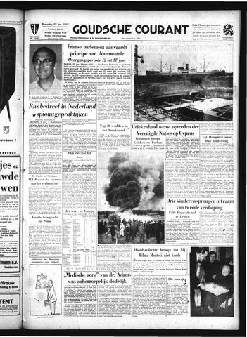 Goudsche Courant 1957-01-23