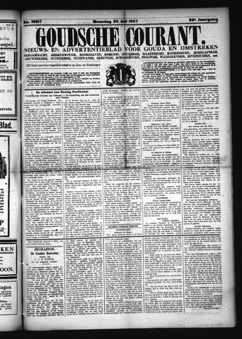 Goudsche Courant 1927-07-25