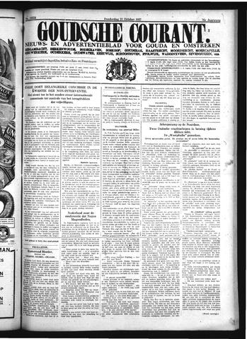 Goudsche Courant 1937-10-21