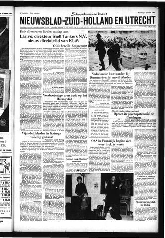 Schoonhovensche Courant 1963-01-07
