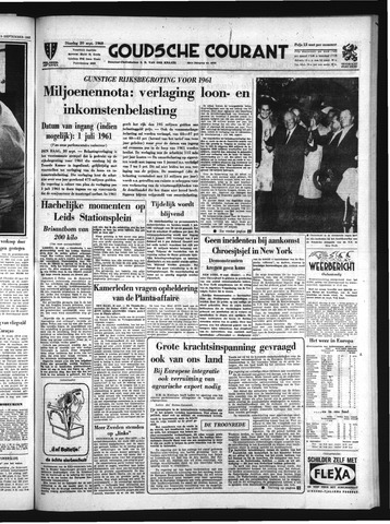 Goudsche Courant 1960-09-20