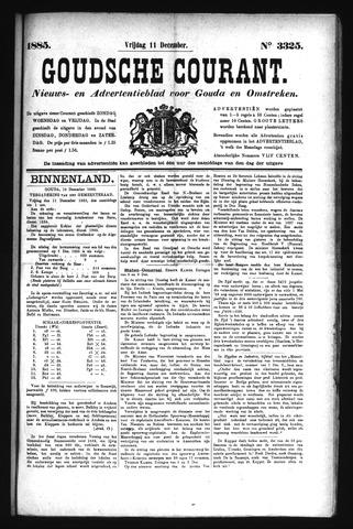 Goudsche Courant 1885-12-11