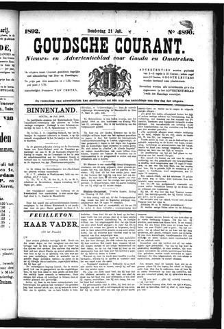 Goudsche Courant 1892-07-21